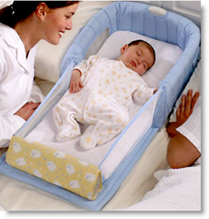 Close and secure baby sleeper
